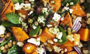 Roast Pumpkin and Chickpea Salad