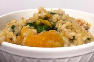 Pumpkin and Mushroom Risotto